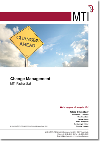 MTI-Fachartikel: Change Management