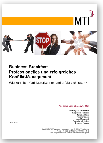 Business Breakfast - Konflikte