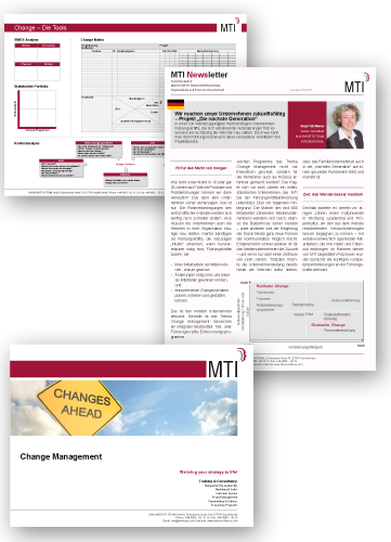 MTI Infopaket: Change Management