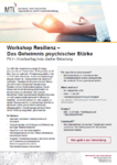 Workshop Resilienz