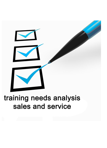 MTI Check List: Training Needs Analysis – Sales and Services