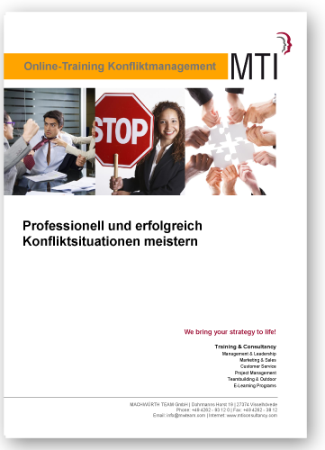 Online Training Konfliktmanagement