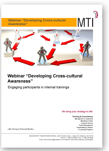 Webinar Developing Cross-Cultural Awareness