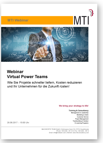 Webinar Virtual Power Teams