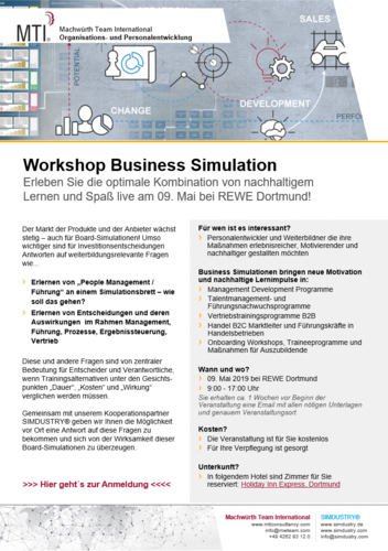 Workshop Business Simulation