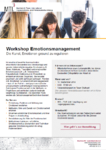 Workshop Emotionsregulation